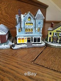 Norman Rockwell Town Set