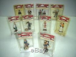 RARE 1999-2000 lot of 10 LEMAX VILLAGE COLLECTION FIGURES