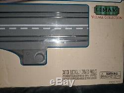 RARE 1999 LEMAX Village Collection Electric Classic Car Set 2 Way Road