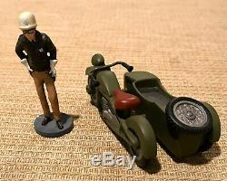 RARE Antique Hawthorne Village Mayberry Andy Griffith Barney's Sidecar set1996