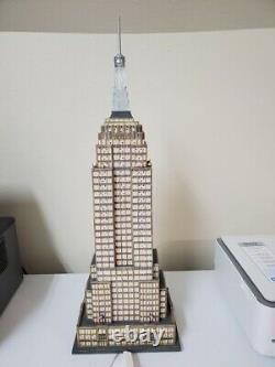 RARE Dept 56 Christmas in the City Village EMPIRE STATE BUILDING #59207