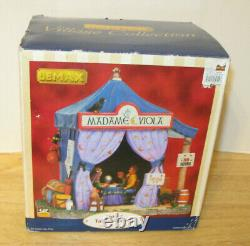 RETIRED Lemax Spookytown # 84792 Madame Viola's Tent Lighted VHTF