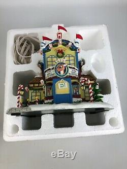 RUDOLPH'S CHRISTMAS TOWN HAWTHORNE VILLAGE MOVIE HOUSE THEATRE With COA