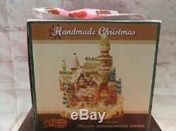 Rare Cracker Barrel Fiber Optic Gingerbread House Christmas Display New In Box