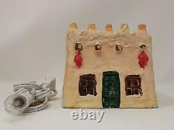 Rare Dept 56 Snow Village Adobe House 5066-6 (1979-1980) Excellent