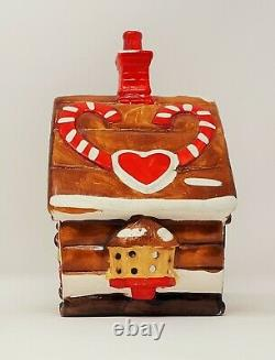 Rare Dept 56 Snow Village Gingerbread House #5025-3(1983-1984) Excellent