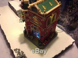 Rare LEMAX Christmas INCREDIBLE TOY EMPORIUM Lights Music MICHAELS EXCLUSIVE