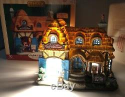 Rare Lemax 2009 Cottage Art Gallery Caddington Lighted Christmas Village MIB