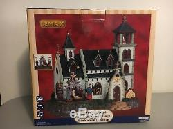 Rare Lemax Christmas Village Church of the Nativity Animated Musical In Box