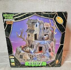 Rare Lemax Spooky Town Dead Man's Mine Halloween animated sound lighted