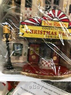 Rare NEW Lemax Coventry Cove Rialto Theater 2005 #55273 Christmas Train village