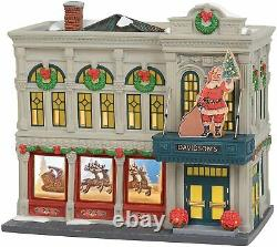 Retired Dept 56 Christmas In The City- Davidson's Department Store New in Box