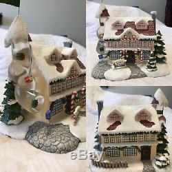 Rudolph The Red Nosed Reindeer Christmas Village From