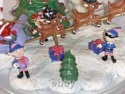Rudolph The Red Nosed Reindeer Musical Hawthorne Village RUDOLPHS CHRISTMAS TOWN