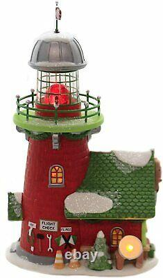 Rudolph's Blinking Beacon Department 56 North Pole Village 6005433 Christmas Z