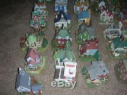 SET OF 50 VILLAGE BUILDINGS FROM INTERNATIONAL RESOURCING SERVICES + accessories