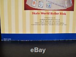 SKATE WORLD ROLLER RINK Lemax Village Collection Animated -Music-Lights-sounds