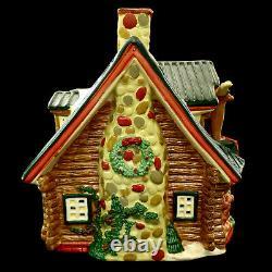 Santa's Best Christmas Village Houses / Lodge & Cabin / Christmas In The Rockies