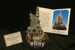 Schloss Neuschwanstein Lilliput Lane T Raine Sculptor #0175 of 1500 (NIB)