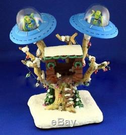 Simpsons Christmas Village Bart's Treehouse A0323