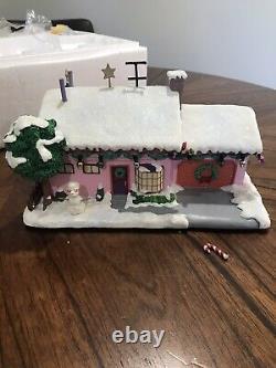Simpsons Hawthorne Christmas Village'Milhouse's House' COA 2006 Simpson Holiday