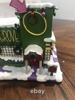 Simpsons Hawthorne Christmas Village'The Pimento Grove' 2007-COA Simpson
