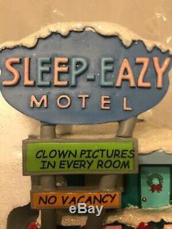 Simpsons Hawthorne Village Christmas Sleep Eazy Motel Rare Only One On eBay COA
