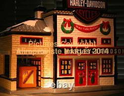 Snow Village Dept 56 HARLEY-DAVIDSON MANUFACTURING! 54948 NeW! MINT! FabULoUs