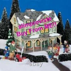 Snow Village Dept 56 STICKS STYLE HOUSE! 54943 NeW! MINT! FabULoUs