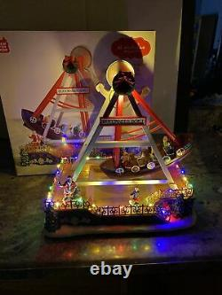 St Nicholas Square Buccaneer Boat Carnival Ride Christmas Santa Animated Lighted