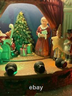St. Nicholas Square Village Christmas Play Theater Santa Mrs Claus Elf Christmas
