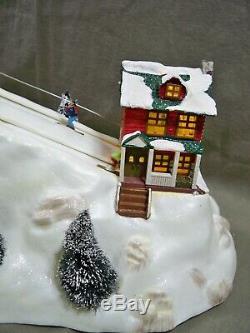 St Nicholas Square Village Collection Ski Hill