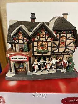 St. Nicholas Square Village Oktoberfest German Pub Restaurant Pretzels Christmas