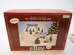 St. Nicholas Square, Winter Wonderland Half Pipe, Animated, Musical, Lighted