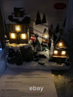 St Nicholas Square village Gondola House SKi Hill Resort Animated Lighted