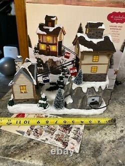 St Nicholas Square village Gondola House SKi Hill Resort Animated Lighted