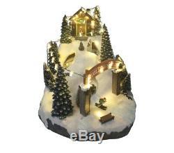 St nicholas square village twilight slope with motion Brand NEW