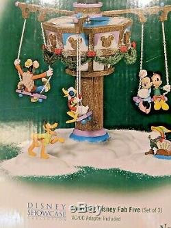 Swinging Disney Fab Five Department 56 North Pole Series Disney Collection