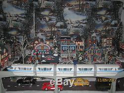 TRAIN GARDEN VILLAGE HOUSE The MOTORIZED MONORAIL SYSTEM +DEPT 56/LEMAX info