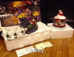 two extremely rare nightmare before christmas hawthorne village pieces - Hawthorne Village Nightmare Before Christmas
