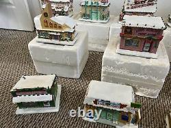 The Simpsons Christmas Hawthorne Village Lot
