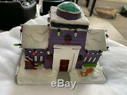 The Simpsons Stonecutter's Daycare Center Hawthorne Village Christmas Mint Rare