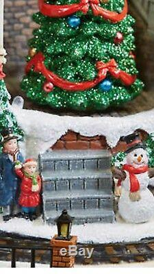 Victorian Themed Animated Musical Winter Village! New without box. Rare