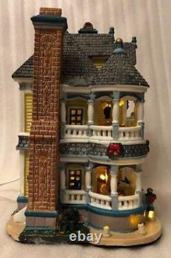 Vintage 2005 Lemax Carole Towne Christmas Village Anabels Bed & Breakfast