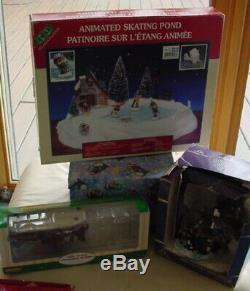 Vintage Kohl's Christmas ST. NICHOLAS SQUARE VILLAGE Bundle HUGE Lot