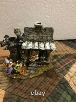 WEE FOREST FOLK Collectible M-344 HALLOWEEN NIGHT Estate Sale-Read (P)